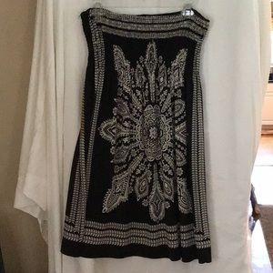Dresses & Skirts - Black floral dress